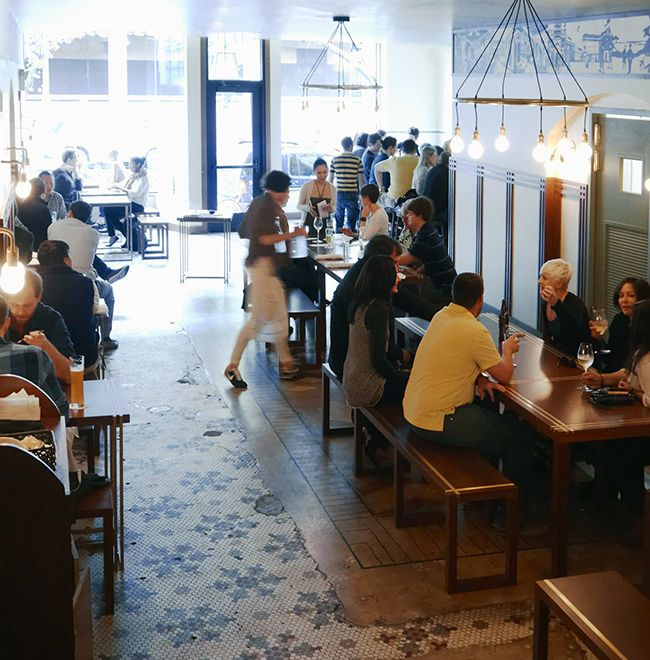 Restaurant at The Dean Hotel, Providence RI — on @SavvyHome