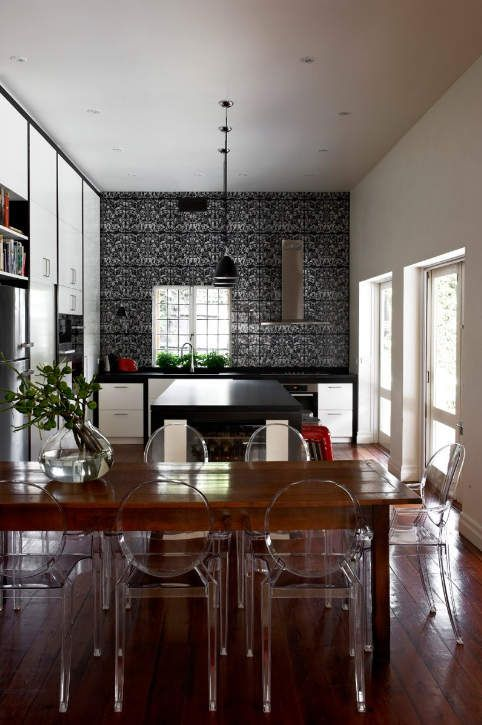 les 48 meilleures images du tableau cr dences originales. Black Bedroom Furniture Sets. Home Design Ideas