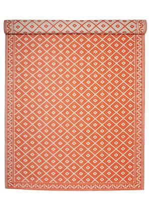 ROMBIC matta orange | Plastic rug | Rug | Mattor | Inredning | INDISKA Shop Online