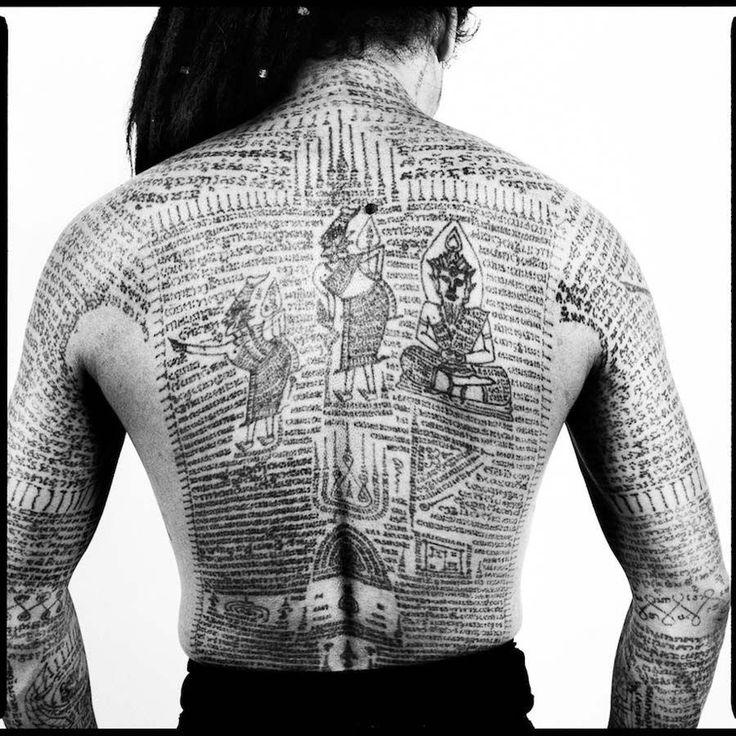 Tatouage Thaïlandais #Polynesiantattoos   – Polynesian tattoos