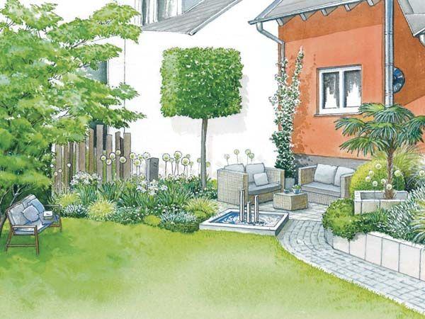 Inspirational Gestaltung einer Outdoor Lounge Seite Mein sch ner Garten