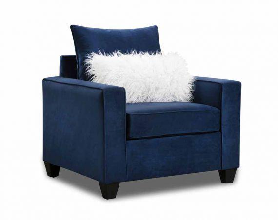 Indigo Blue Sofa Loveseat Collection In 2020 Blue Sofa Love Seat Loveseat Sofa