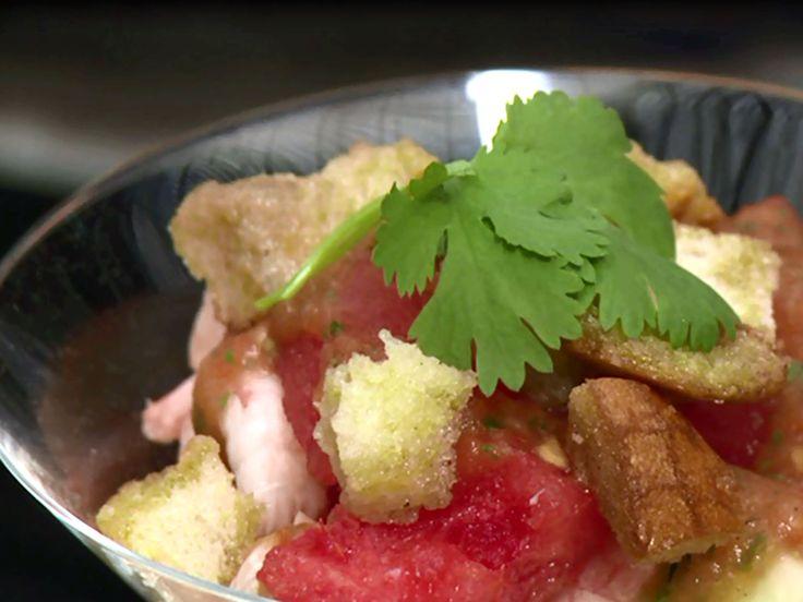 Räkcocktail med mango och vattenmelon   Recept från Köket.se