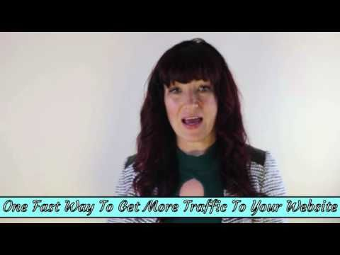 The Fastest Way To Get More Traffic To Your Website #WebMarketing #InternetMarketing #Video