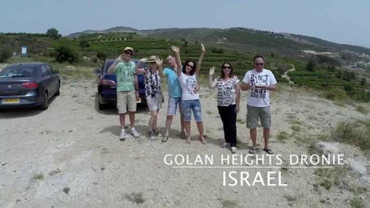 Golan Heights Dronie