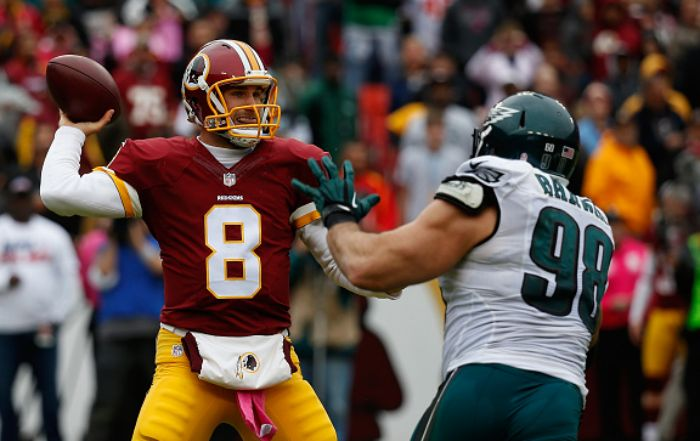 Kirk Cousins has excelled vs. Eagles, but will be challenged by new-look D