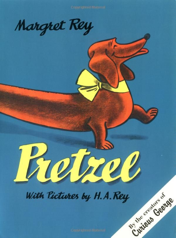 Pretzel by Margaret Ray with Pictures by H. A. Rey. #Book #Kids
