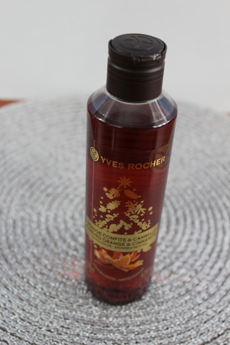 Yves Rocher Shower & Bath Gel, Candied Orange & Cinnamon - review