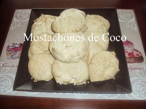 Cupcakes de ensueño: Mostachones de Coco y Biscuits Roses de Reims