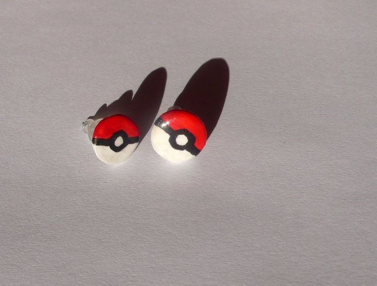 pokeball earrings - Pidlimaja