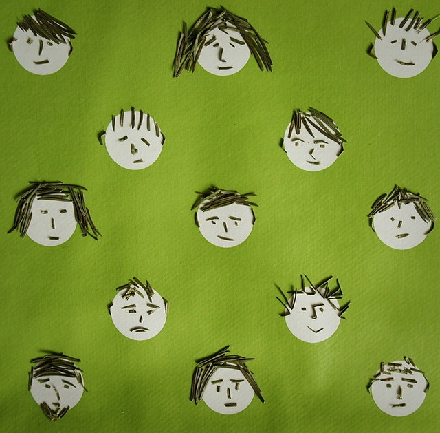 Faces by Tatiana Khlopkova.