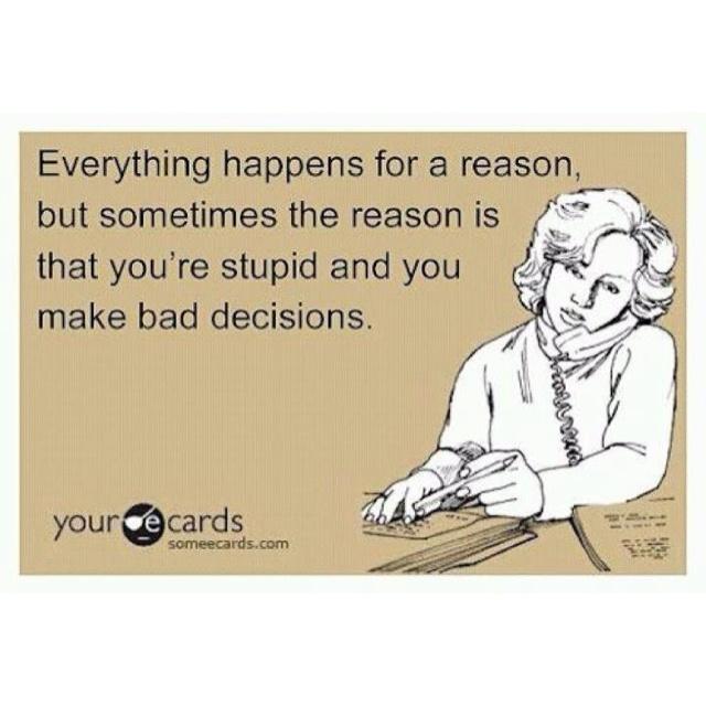 Ha! True.