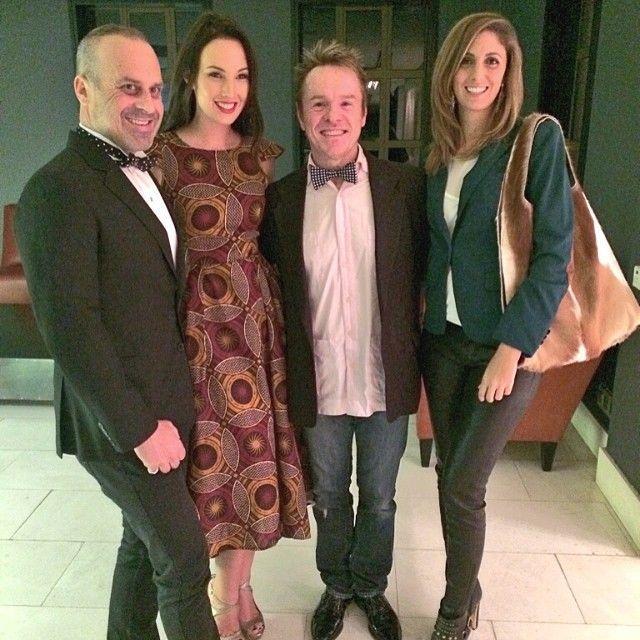 Host Tamerin Jardine with Designers JJ Schoeman and Samantha Louise