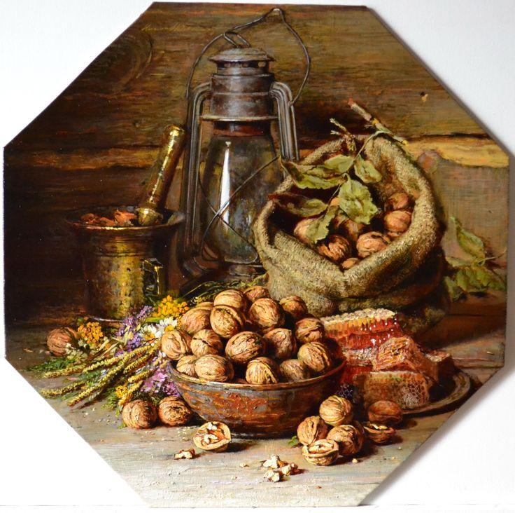 Николаев Юрий. Орешки, мёд и травы