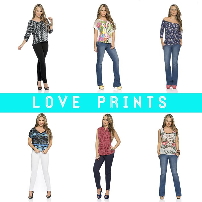 We love Prints!!! <3 <3 <3 Prints for every day! #look #color #prints