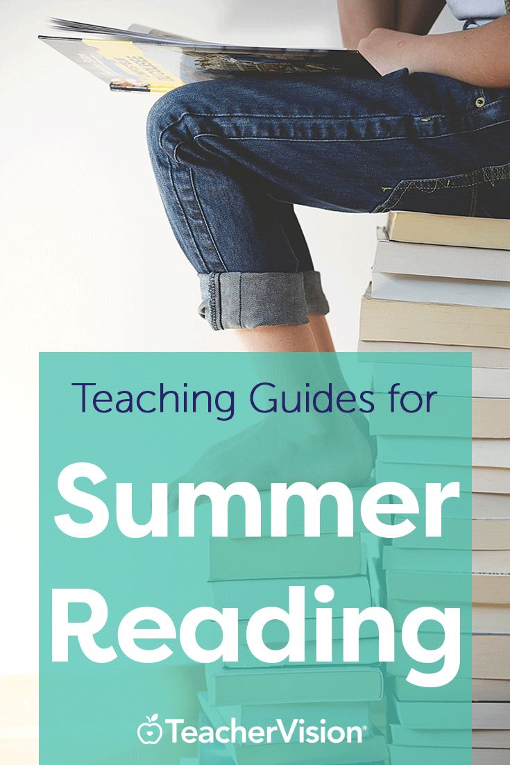 Did you assign reading from our summer reading suggestions? Use our related teaching guides to go over summer reading assignments when you return to school in the fall. (Grades K-12)