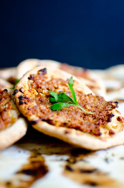 Laham Bajine: Syrian Meat Pizzas