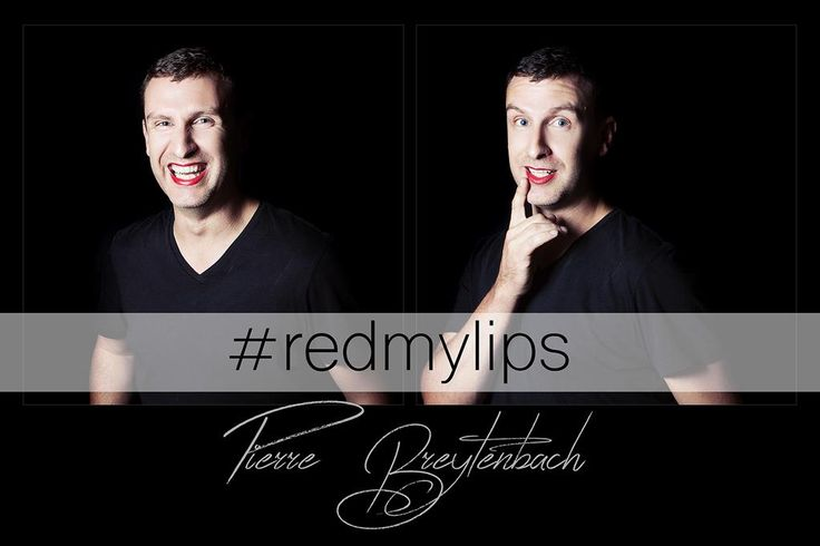 #RedMyLips with @PierreBreytenb ,what a an awesome sport and fun guy!Thanks for being a part of my series, @yjacobsz