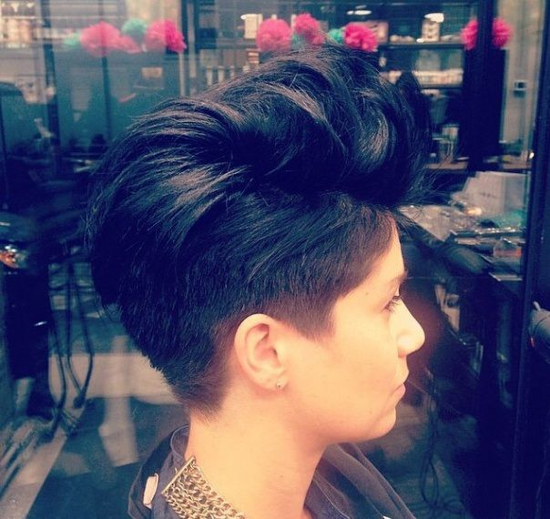 10 Faux Hawks and Mohawks you would like to wear! - Page 9 of 10 - Short hairstyles