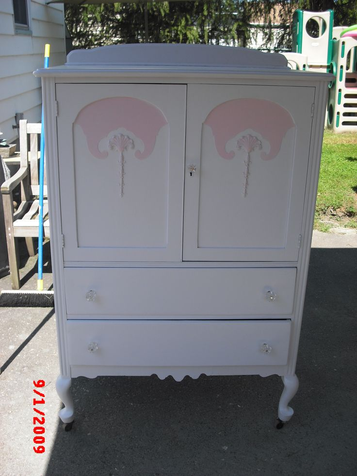 vintage painted shabby chic armoire wardrobe chifferobe bedroom furniture   shabbychic  vintagefurniture  paintedfurniture. 67 best Armoire  Chifferobe  Wardrobe Vintage Painted Shabby Chic