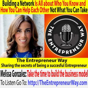 To find out more click this link =>> http://theentrepreneurway.com/podcast/353-building-a-network-is-all-about-who-you-know-and-how-you-can-help-each-other-not-what-you-can-take-with-melissa-gonzalez-founder-and-owner-of-the-lionesque-group/  A former Wall Street Executive, Gonzalez is the founder of The Lion'Esque Group, a firm of pop up shop experts who have produced more than 100 retail experiences in New York City, Los Angeles, and the Hamptons. Clients include major brands…