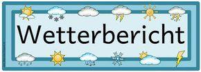 Ideenreise: Kärtchen für den Wetterdienst