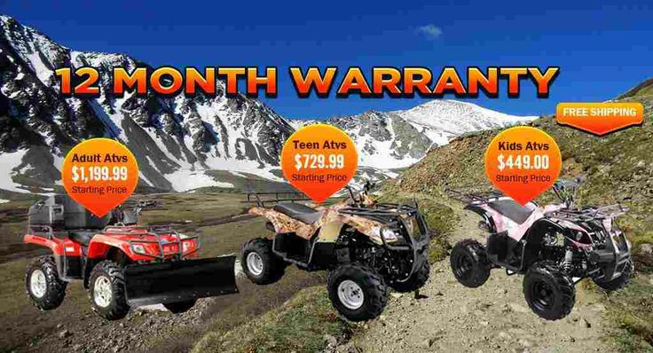ATVs for Sale - Adult and Teen, Quad-4 Wheeler, Affordable Cheap kids ATV, Youth Four Wheelers  xtremefirepower.com