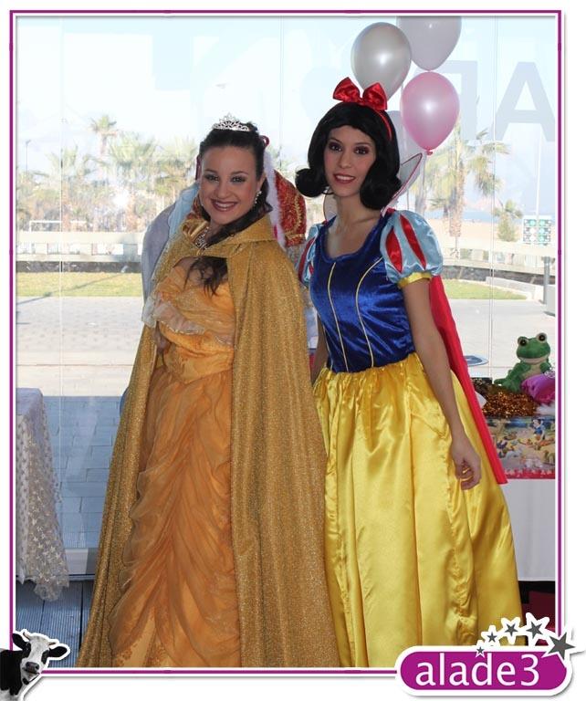 Nuestras princesas dispuestas a hacerles pasar un dia inolvidable
