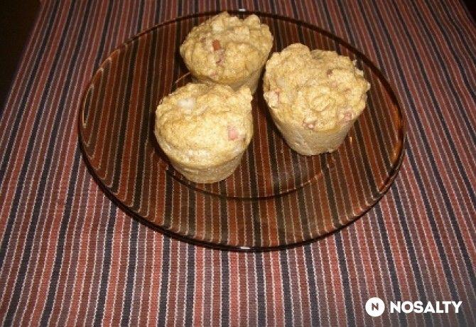 Reform sajtos-sonkás muffin