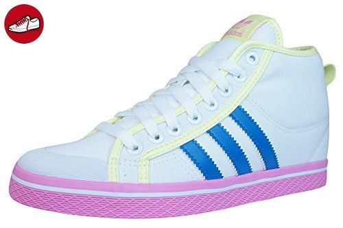 adidas  Honey Stripes Up W, Damen Sneaker weiß 40 EU - Adidas schuhe (*Partner-Link)