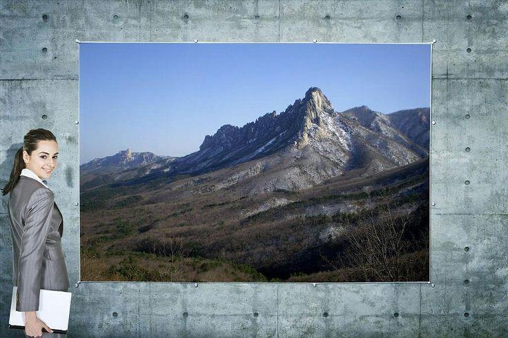 #Ulsanbawi Rock in #Seoraksan National Park, #Sokcho, Korea | 미시령옛길로 오시면 미시령의 아름다운 풍광과 설악산 울산바위를 가까이에서 천천히 바라 볼 수 있습니다.