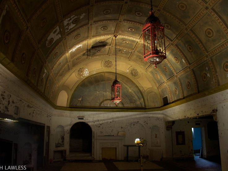 Inside the Variety Theater in Cleveland.