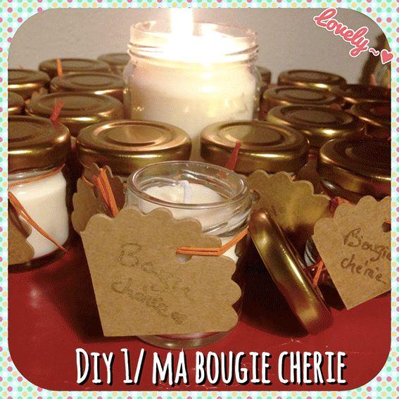 Comment fabriquer une bougie naturelle diy de no l - Comment fabriquer des bougies ...