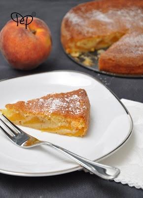 Torta di pesche alla fiorentina - Peach Cake