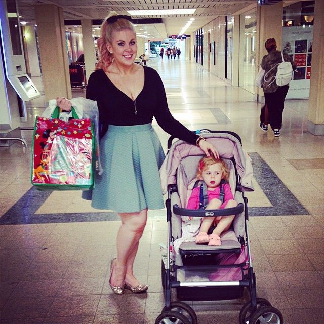 Louise Sprinkle of Glitter and her daughter Darcy