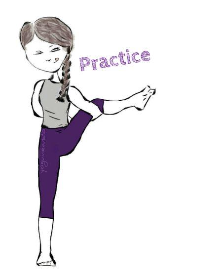 Practice and all is coming Yoguineando, humor y yoga en español