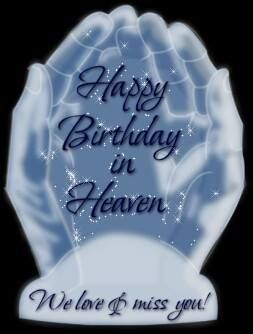 Happy Birthday in Heaven~ for my family and friends through out the year.