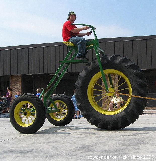 John Deere Tricycle by Rowdy Rider, via Flickr