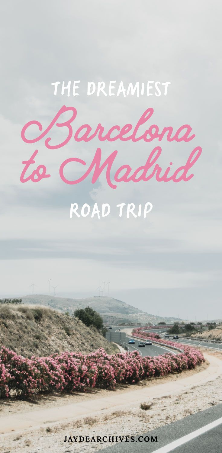 If you are planning a trip to Spain then this Barcelona to Madrid road trip is the perfect way to get an authentic feel for the vibrant country...
