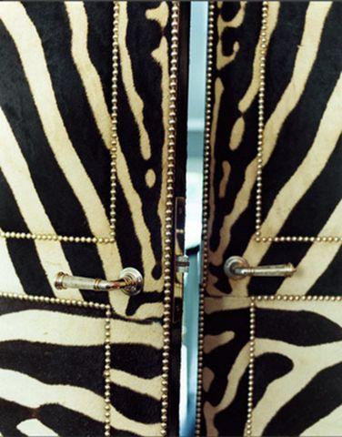 zebra closet doors