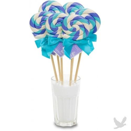 Blue Lollipop Favors