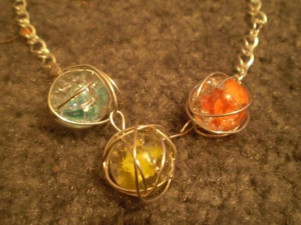Cracked Marble necklaces: Marble Necklaces, Jewelry Crafts, Jewelry Inspirations, Fun Crafts, Craft Ideas, Diy Marble Necklace, Diy Arts Crafts