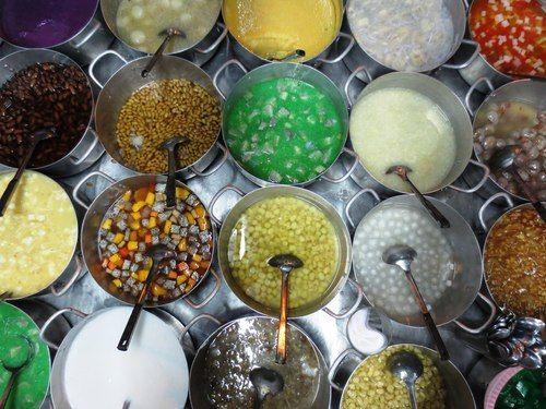 """Le """"Chè"""" est un dessert sucré typique du Vietnam. C'est une spécialité simple, parfumée, délicieuse"""