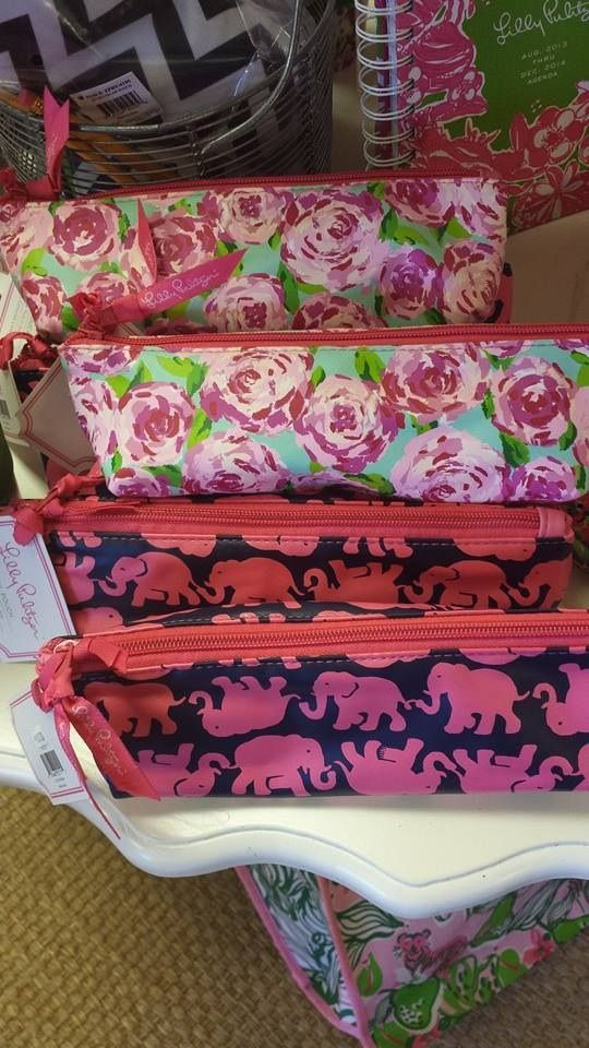 Lilly Pulitzer pencil cases