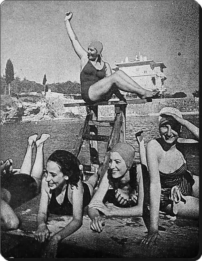 Caddebostan kızlar kampı 1939