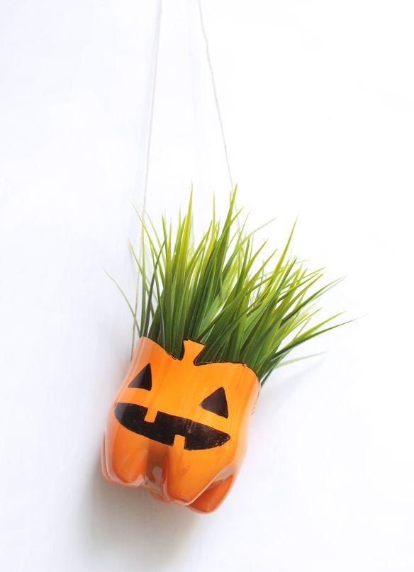 Maceta Halloween / HangPlant Halloween Pumpkin by Ninomaru