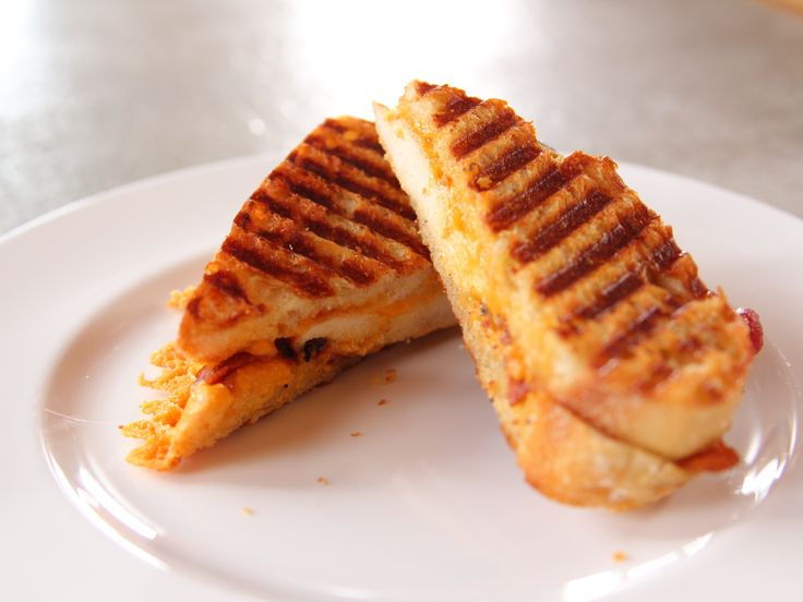 Chicken Bacon Ranch Panini recipe from Ree Drummond via Food Network