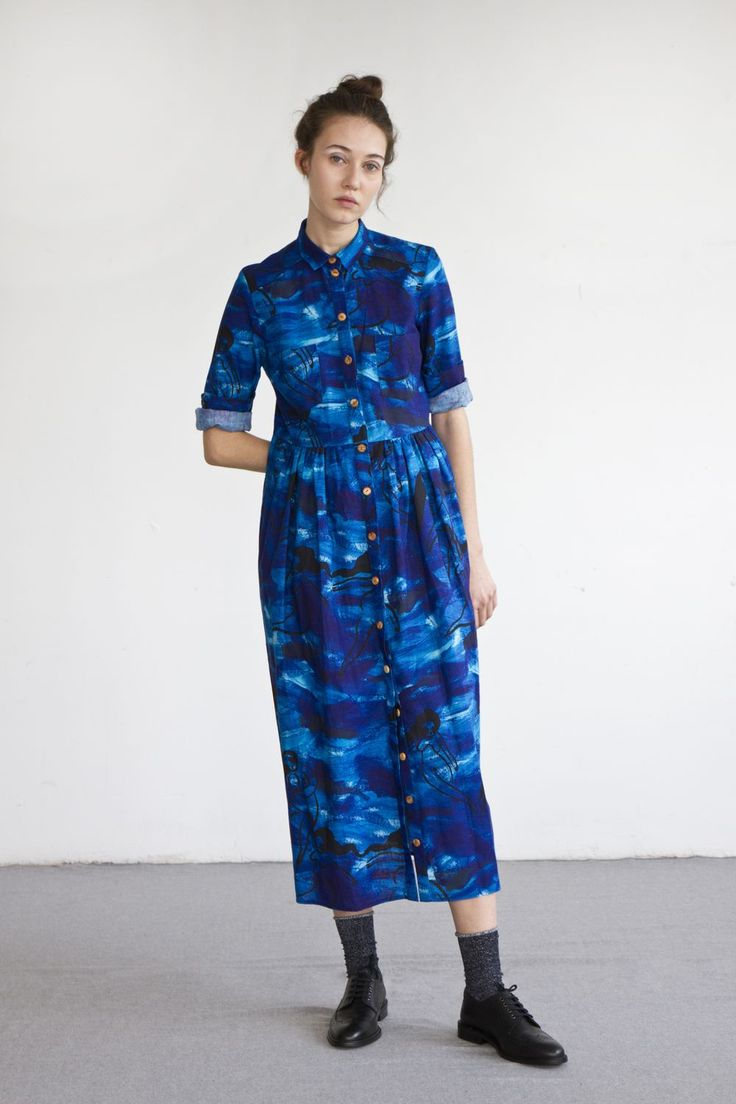 LENNY dress in Vodou print via Heinui. Click on the image to see more!