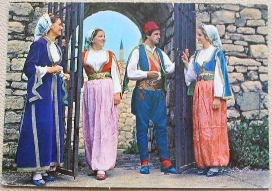 169. Nosnje naroda u BiH (novije fotografije) - Old postcards of Bosnia-Herzegovina