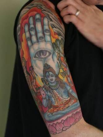 Image result for shiva smoking tattoo